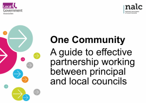 NALC launches new guide with the Local Government Association