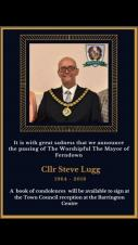 LRALC mourns the passing of Steve Lugg