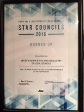 LRALC Awarded Runner-Up Status in Outstanding Project of The Year Category at NALC Star Councils Ceremony